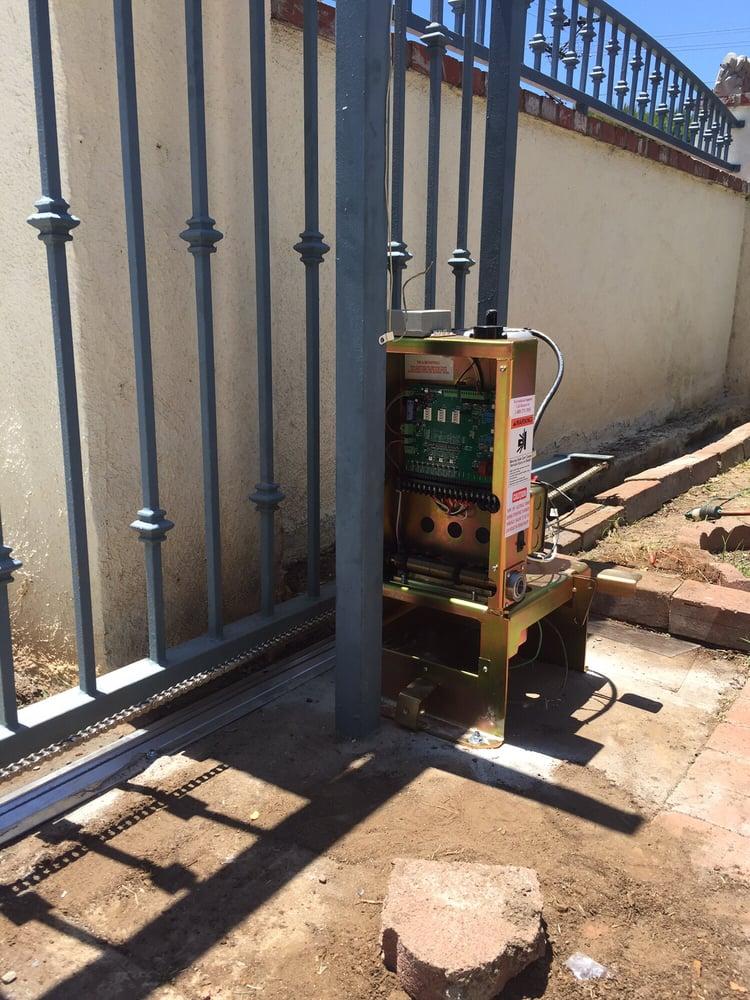 New ram100 gate opener yelp for Local garage door
