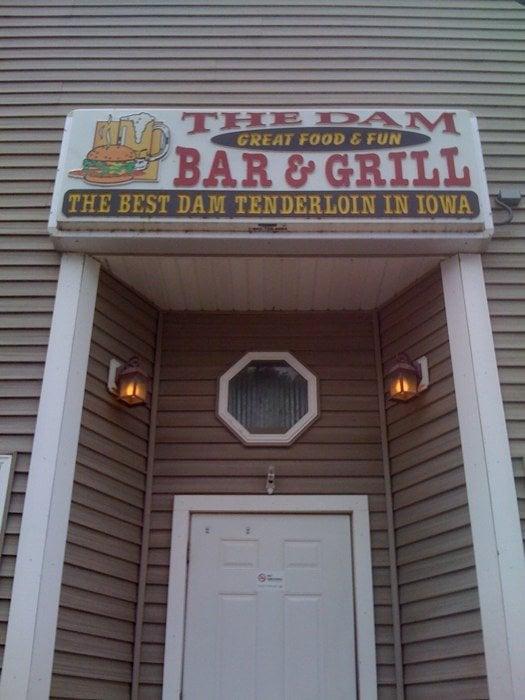 Dam Bar & Grill: 5898 Main St, Troy Mills, IA