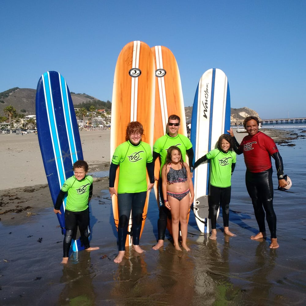 Van Curaza Surf School: 80 San Francisco St, Avila Beach, CA