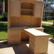 Before (water Damage Photo Of Furniture Medic   Houston, TX, United States.  Custom Built In