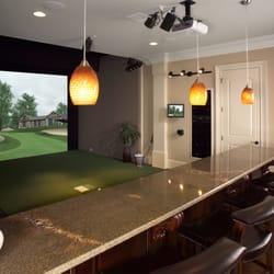 Indoor golf design 10 photos golf equipment 4980 s for Indoor golf design