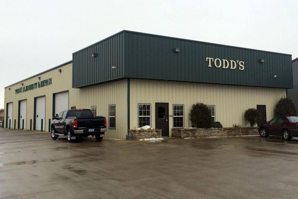 Todd's Alignment & Repair: 2911 16th St S, Moorhead, MN
