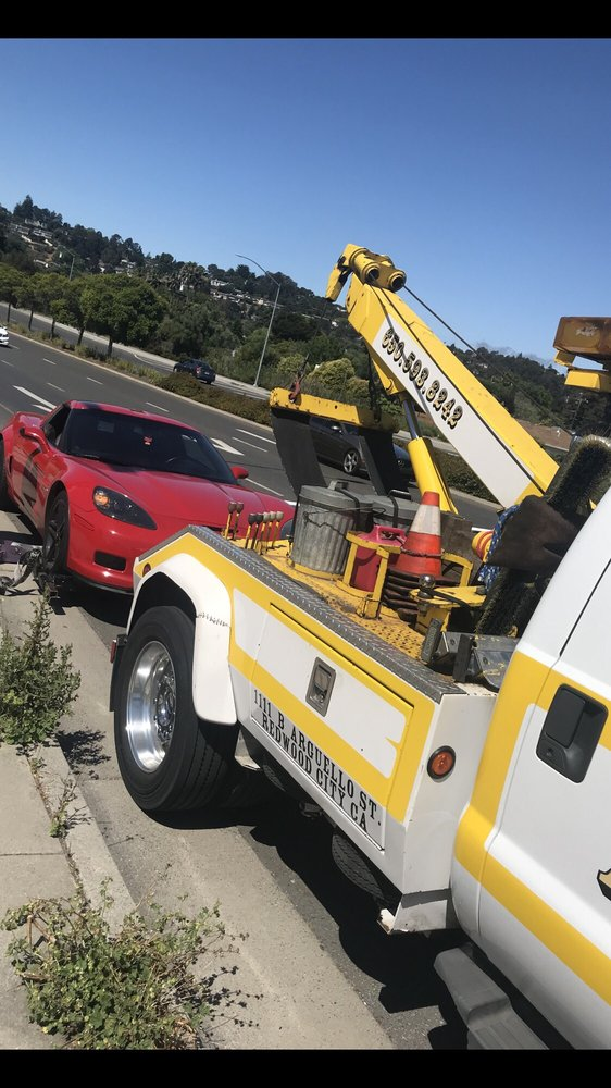 Towing business in Redwood City, CA