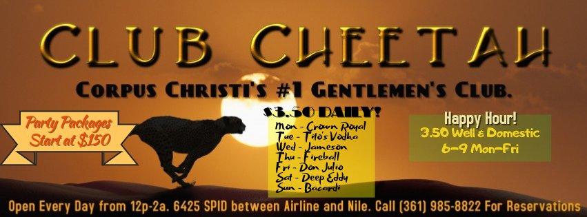 Club Cheetah: 6425 S Padre Island Dr, Corpus Christi, TX