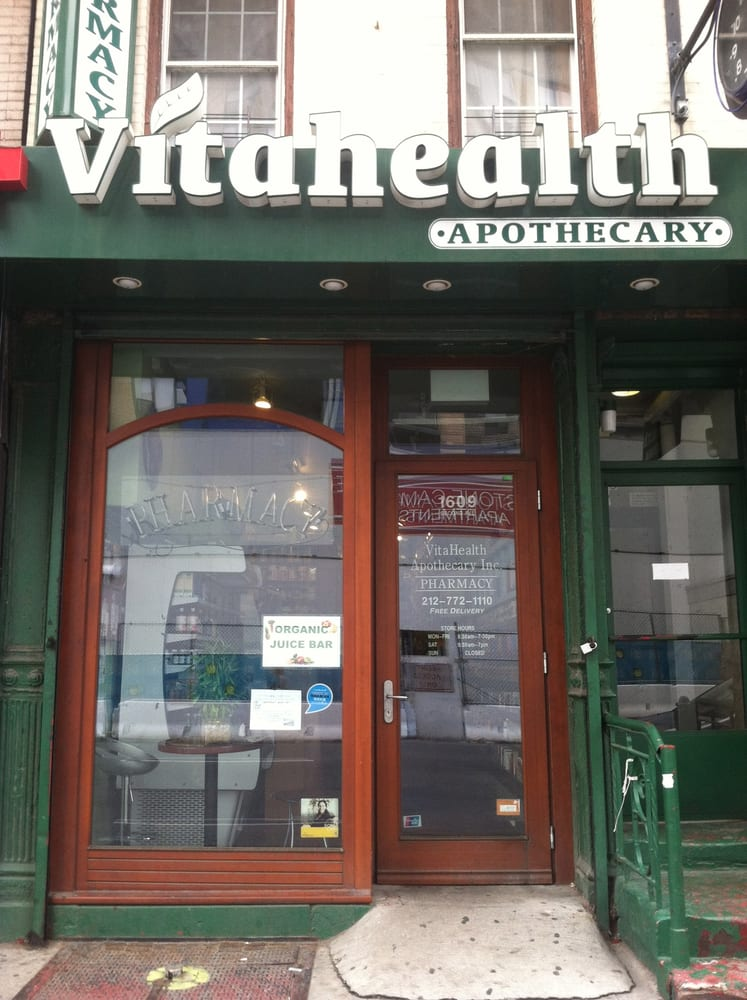 Vitahealth Apothecary: 1609 2nd Ave, Manhattan, NY