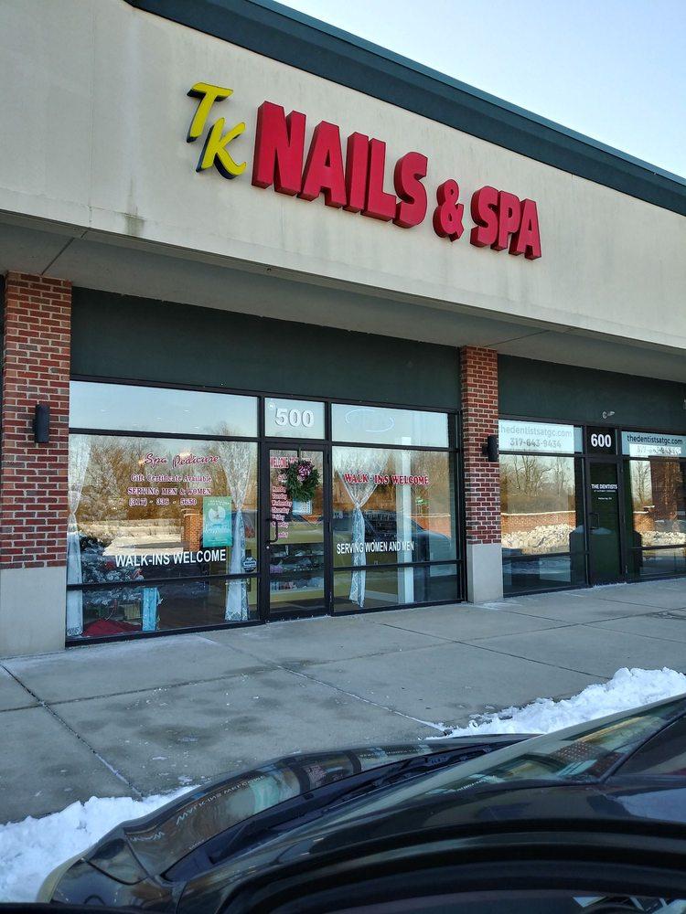 Tk Nails and Salon: 6621 W Broadway, Mc Cordsville, IN