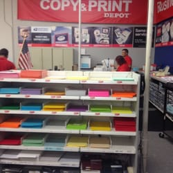 Photo Of Office Depot   Hayward, CA, United States. Printing Services Area