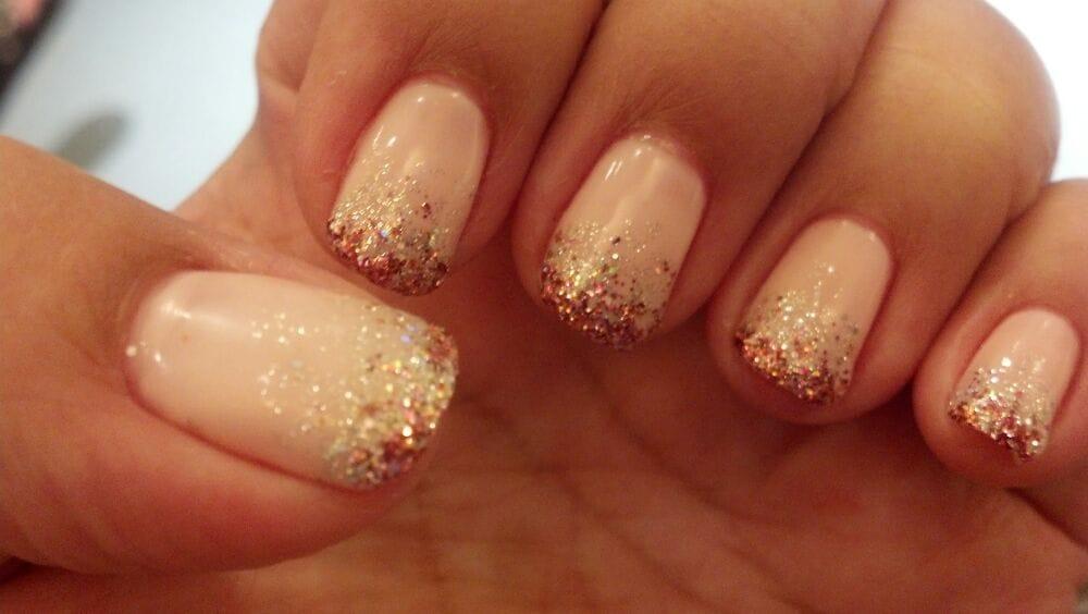 Beautiful Simple Gel Nails Festooning - Nail Art Ideas - morihati.com