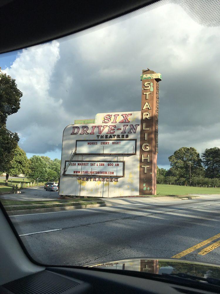 Starlight Drive-In Theatre & Flea Market: 2000 Moreland Ave SE, Atlanta, GA