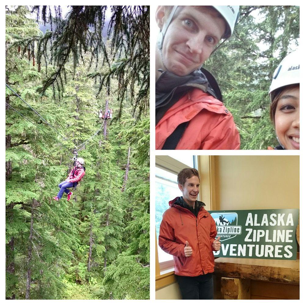 Alaska Zipline Adventures: 110 N Franklin St, Juneau, AK
