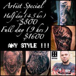 Black Mamba Tattoo Studio - 2570 Florida Blvd SW, Denham