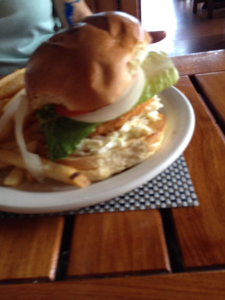 Fried mahi sandwich yelp for Uncle s fish market and grill