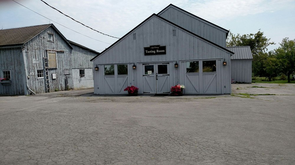 The Cape Winery: 2066 Deerlick Rd, Cape Vincent, NY