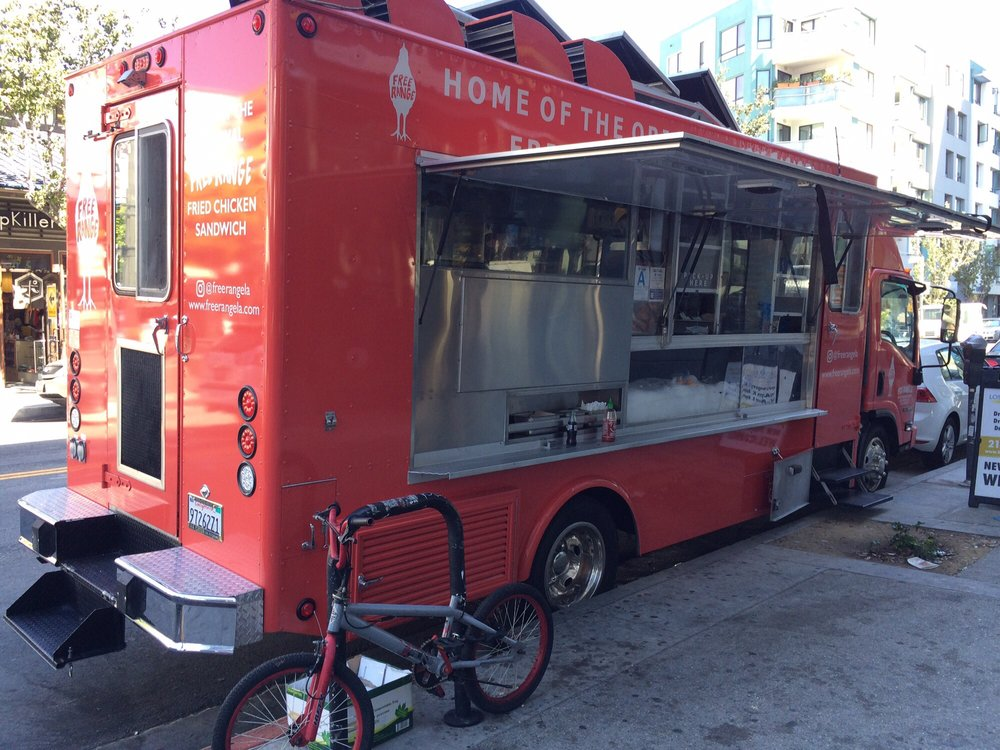 Truck In Front Of Rif Little Tokyo Yelp
