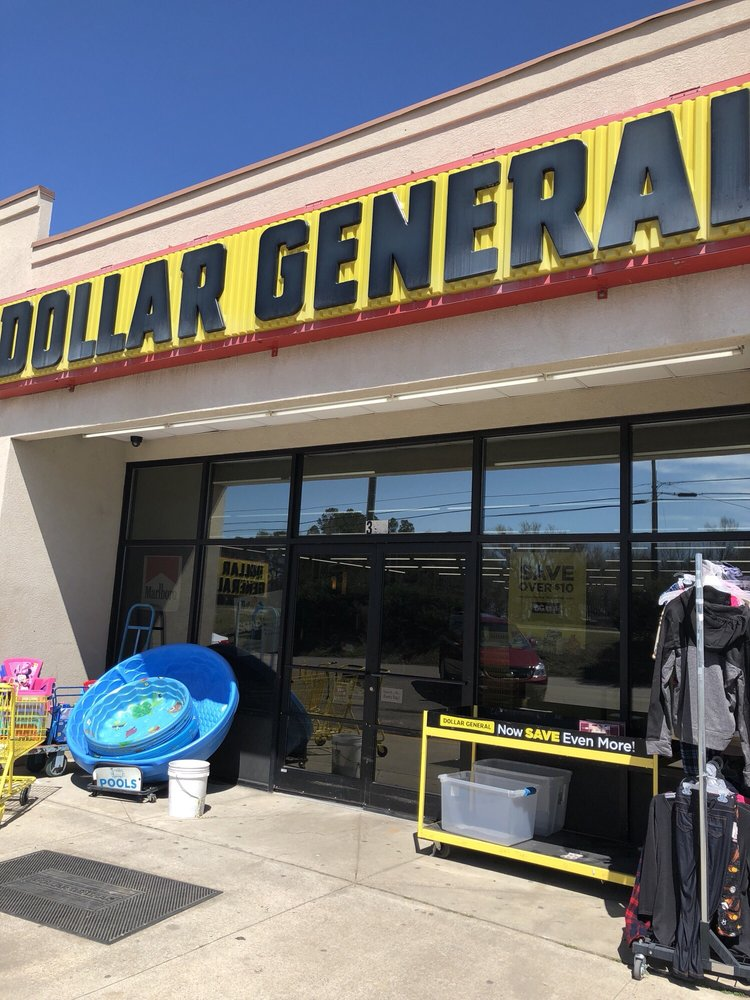 Dollar General Store: 395 Main St, Bunn, NC