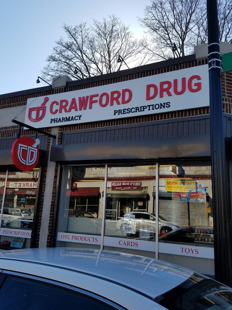 Crawford Drug Store: 1735 Dorchester Ave, Dorchester Center, MA