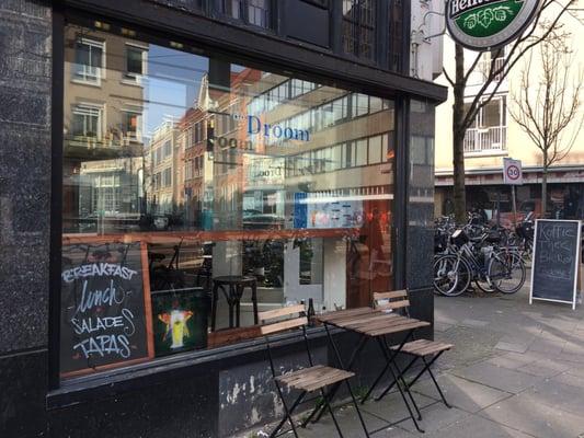 Cafe de droom cafes ferdinand bolstraat de pijp