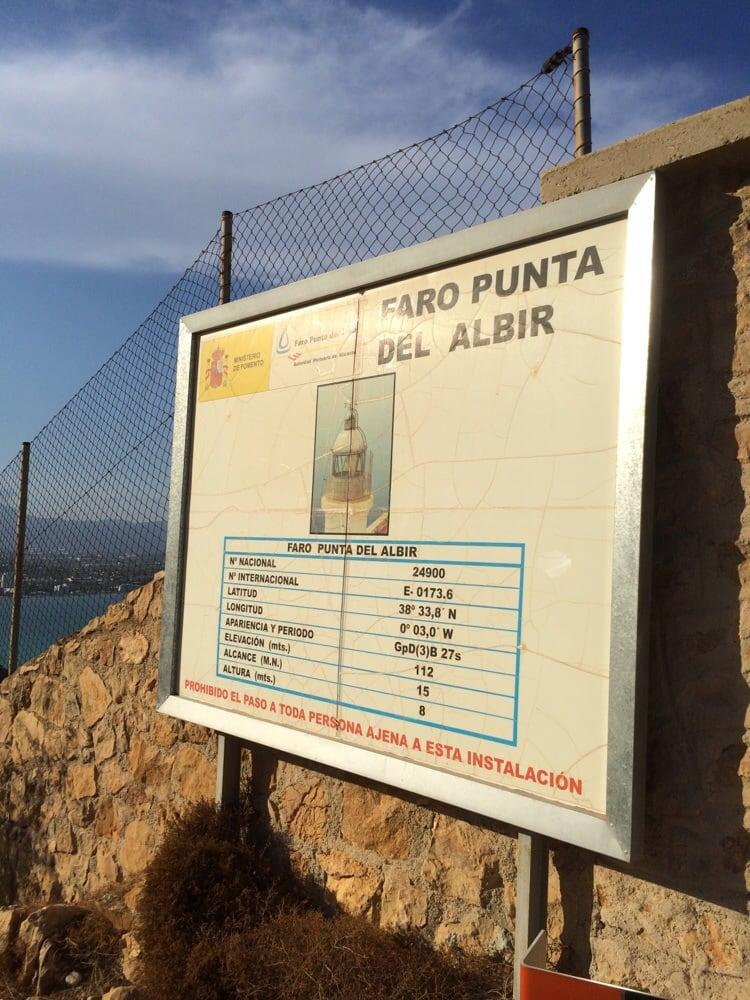 Faro de L'Albir: Plaza Rey Juan Carlos, 1, L'Alfas del Pi, A