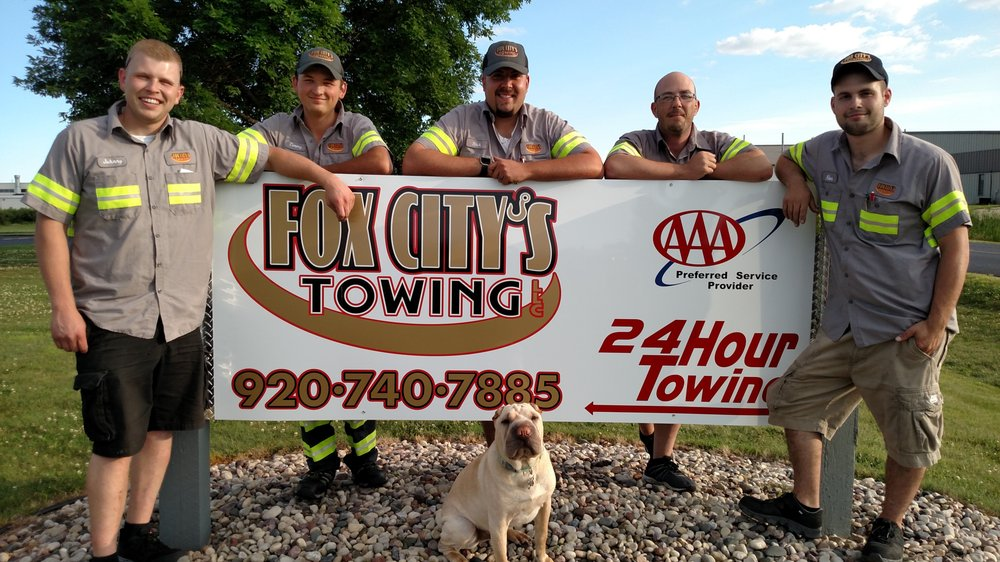Towing business in Little Chute, WI