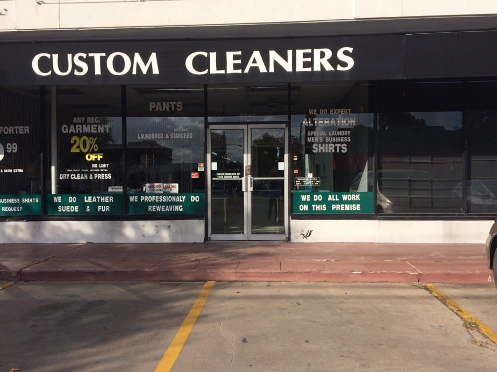 Custom Cleaners