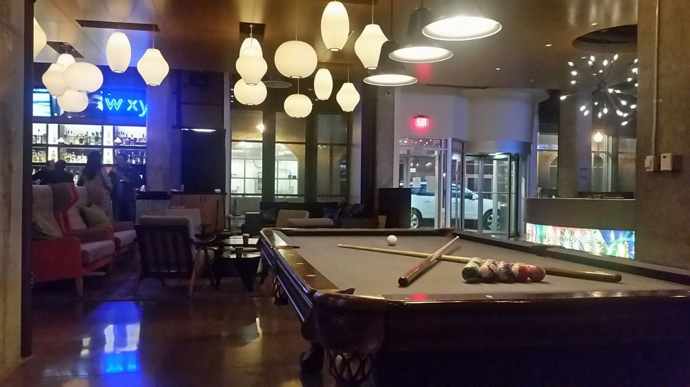 Photo Of Aloft Louisville Downtown   Louisville, KY, United States. Lobby Pool  Table