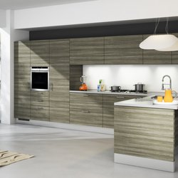 Merveilleux Photo Of Adornus Cabinetry   Doral, FL, United States. City Oak By Alusso