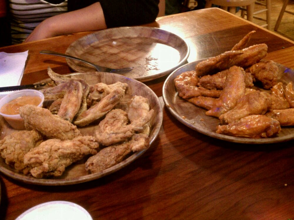 Photo Of Hooters Dublin Ca United States Breaded Naked Wings And