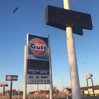 Gulf Gas Station Near Me >> Gulf Gasoline Gas Stations 102 Holiday Frontage Rd