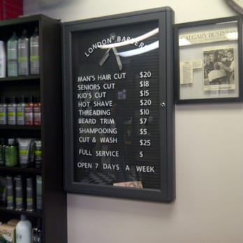 Chatters haircut prices