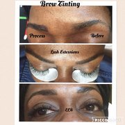 8c75969f29b #clusterlashes Photo of Lyndee's Lashes & Brows - Germantown, MD, United  States.
