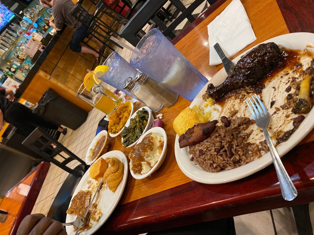 Food from Jakes Soul Food Cafe