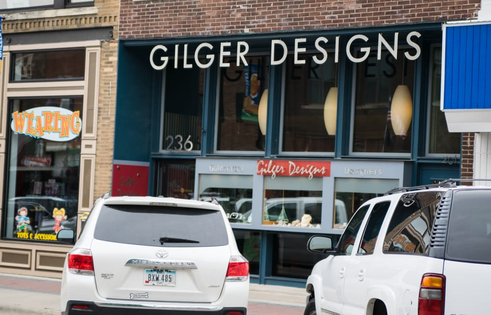Gilger Designs: 236 Main St, Ames, IA