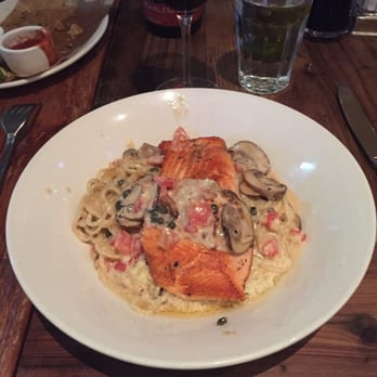 photo of portola kitchen portola valley ca united states spaghetti con salmon - Portola Kitchen