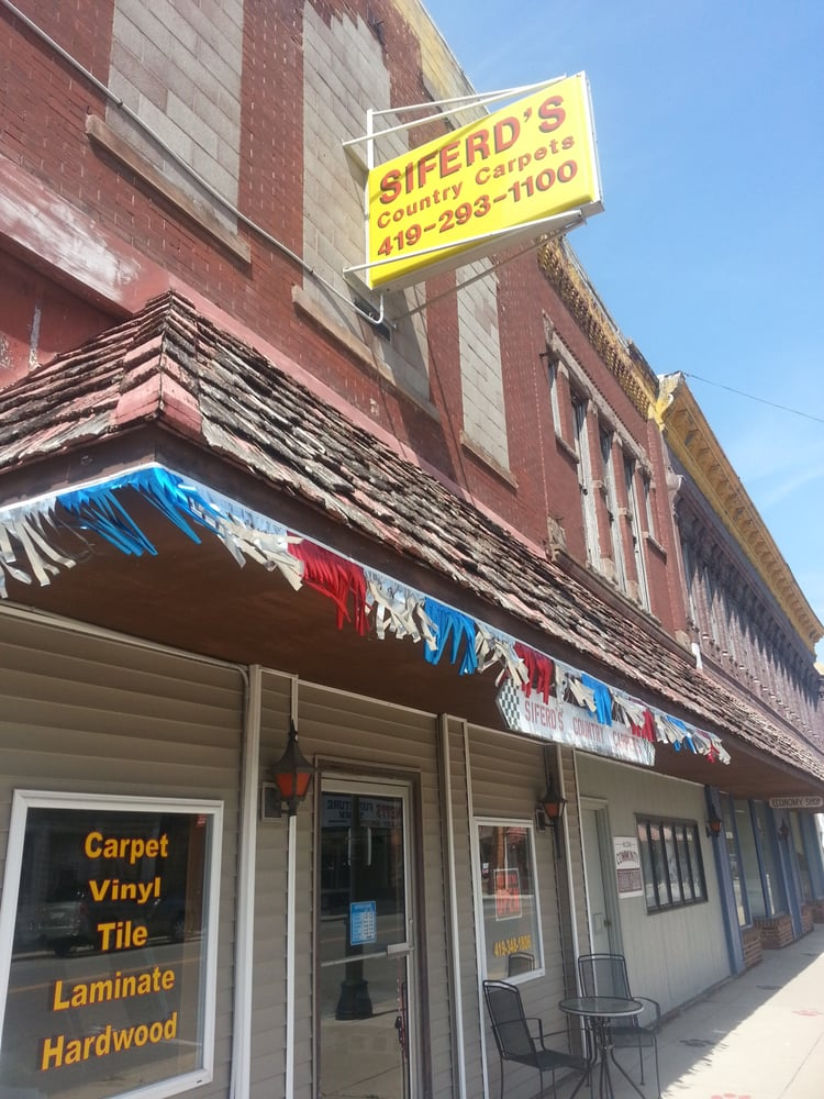 Siferd's Country Carpets: 118 W Main, Mc Comb, OH
