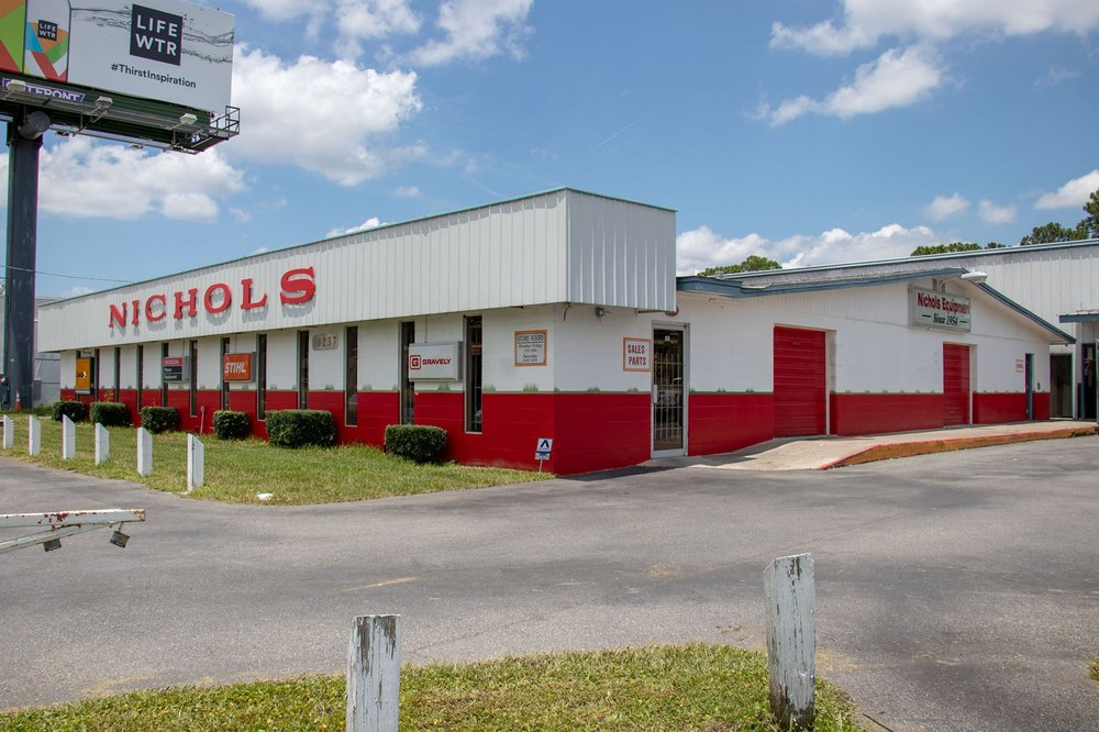 Nichols Equipment: 10237 Beach Blvd, Jacksonville, FL