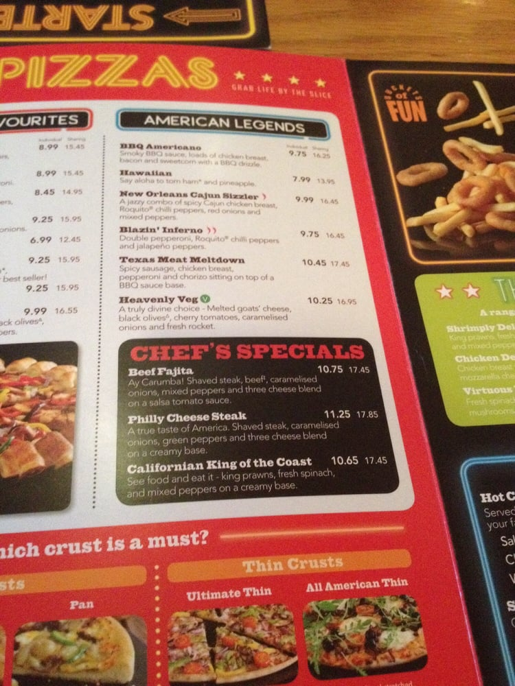 graphic relating to Pizza Hut Menu Printable identify Pizza Hut United kingdom - Pizza - 1 Trinity Street, Ashford, Kent