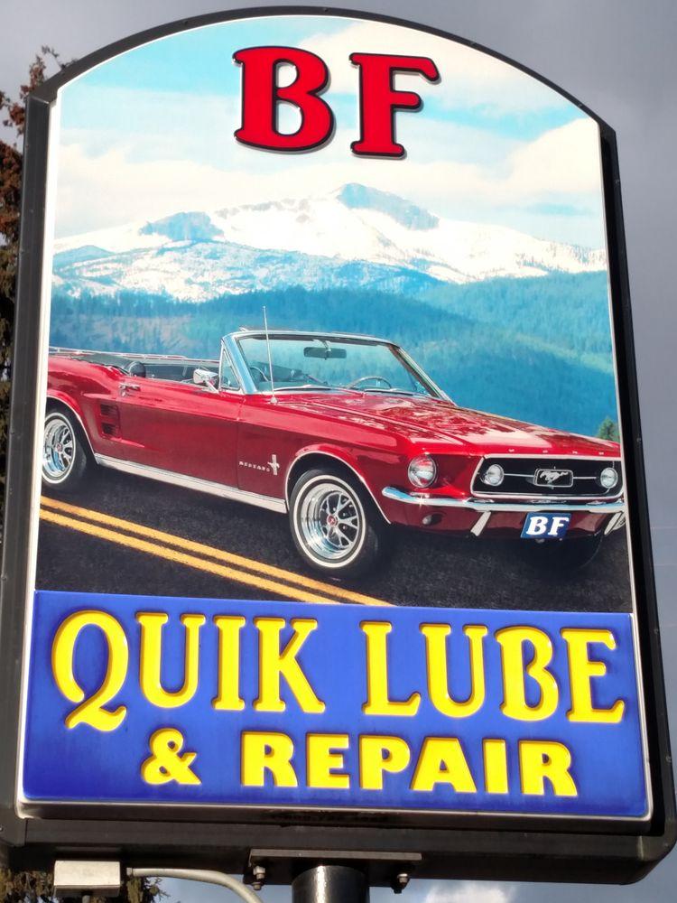 B F Quik Lube & Repair: 6878 Main St, Bonners Ferry, ID
