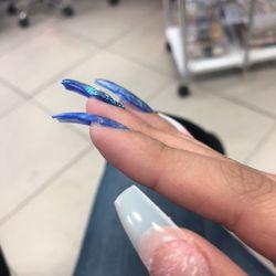 Photo of Blue Diamond Nails - Ontario, CA, United States. I love this