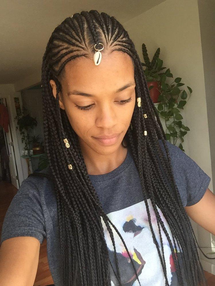 I M So Happy With My Waist Length Fulani Braids By Aisha