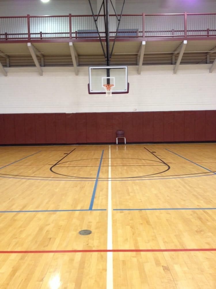 indoor basketball courts  multiple goals  1st floor