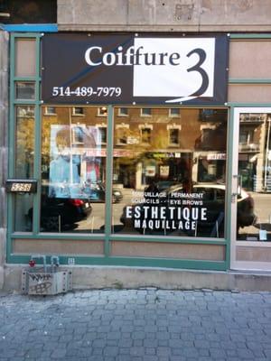Salon De Coiffure Les 3 - Beauty & Spas - 5256 Sherbrooke Rue W ...