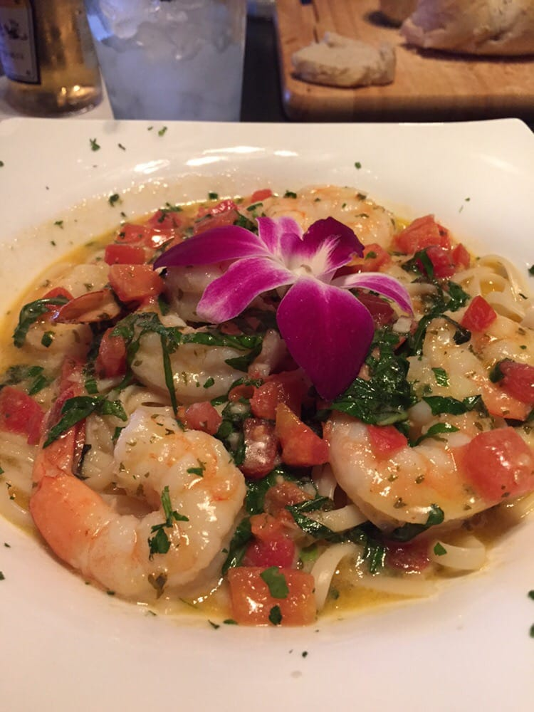 Shrimp scampi requested with no parmesan yelp for Fish tales cape coral