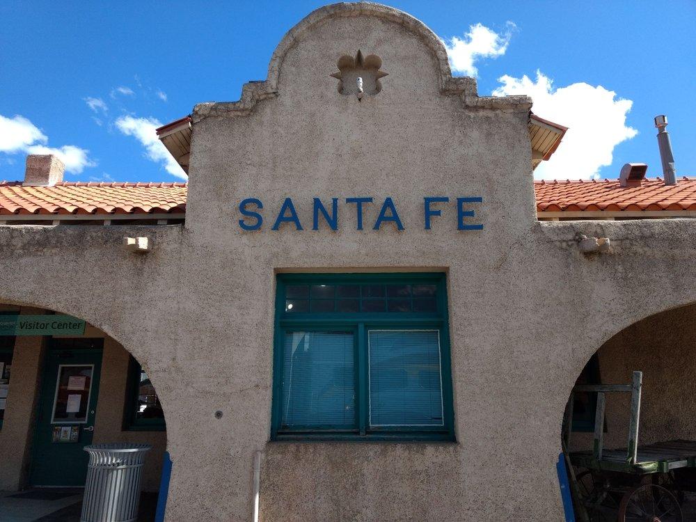 Railyard Visitor Information Center: 410 S Guadalupe, Santa Fe, NM