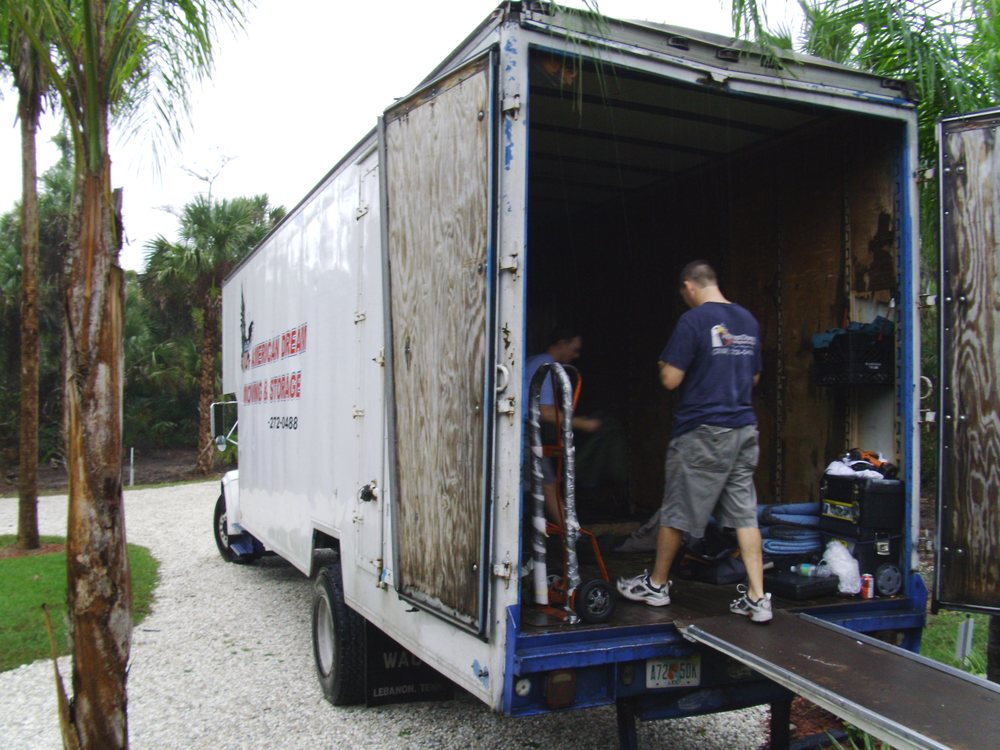 american dream moving storage movers 10061 bavaria rd fort myers fl phone number yelp. Black Bedroom Furniture Sets. Home Design Ideas