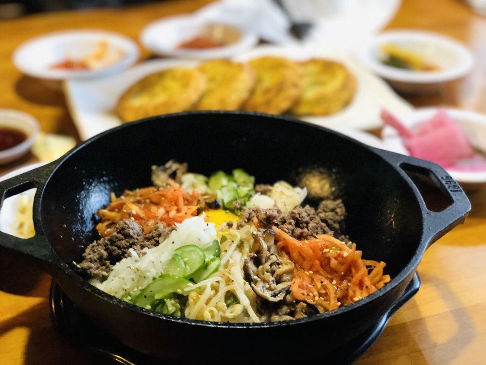 Food from Chop Chop Korean Restaurant