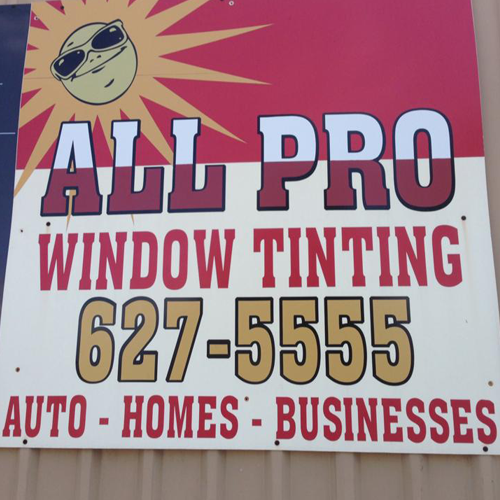 All Pro Window Tinting: 901 W Walnut St, Decatur, TX