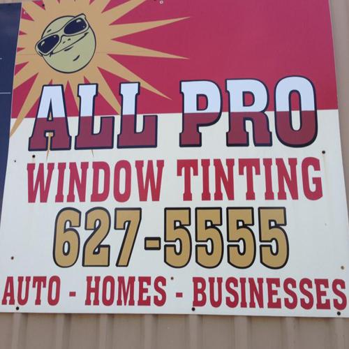 All Pro Window Tinting: 901 W Walnut St, Decatur, TX