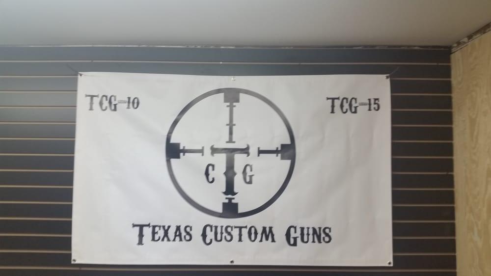 Texas Custom Guns: 208 E Dumble St, Alvin, TX