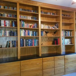 Photo Of Edgewood Custom Cabinetry   Clayton, NC, United States. Library Raleigh  NC ...