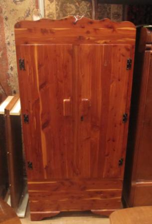 Solid Cedar Two Door Wardrobe Yelp